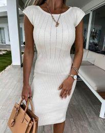 Šaty - kód 4513 - biela