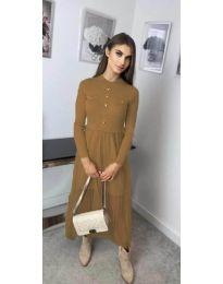 Šaty - kód 185 - hnedá
