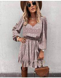 Šaty - kód 0366 - pudrová