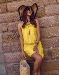 Šaty - kód 8399 - žltá