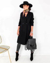 Kabát - kód 1695 - čierná