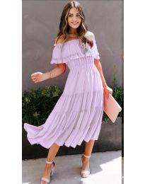 Šaty - kód 699 - světle fialová