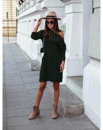 Šaty - kód 8171 - tmavě zelená