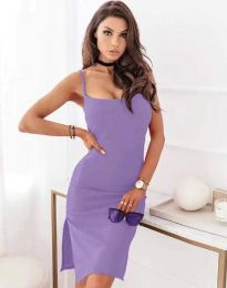 Šaty - kód 7783 - svetlo fialová