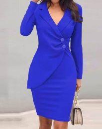 Šaty - kód 2431 - modrá