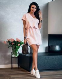 Šaty - kód 3214 - ružová