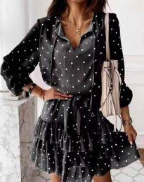 Šaty - kód 7113 - čierná