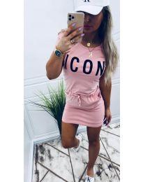 Šaty - kód 9905 - ružová