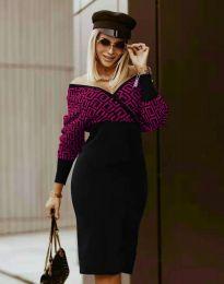 Šaty - kód 8296 - viacfarebné