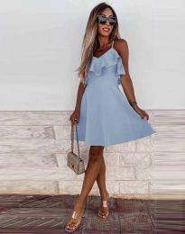 Šaty - kód 2739 - svetlo modrá