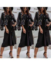 Šaty - kód 1510 - čierná