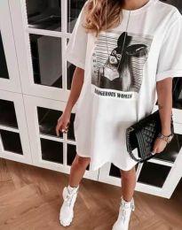 Šaty - kód 2919 - biela