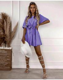 Šaty - kód 13131 - fialová
