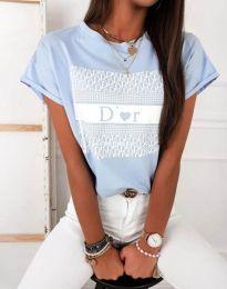 Tričko - kód 11944 - modrý