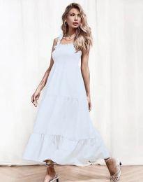 Šaty - kód 1729 - biela