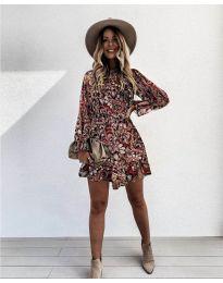 Šaty - kód 248 - 4 - viacfarebné