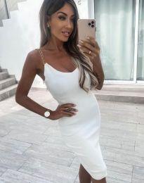 Šaty - kód 7124 - biela