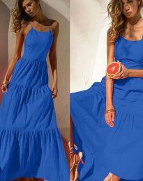 Šaty - kód 2991 - tmavomodrá