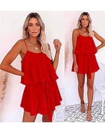 Šaty - kód 721 - červená