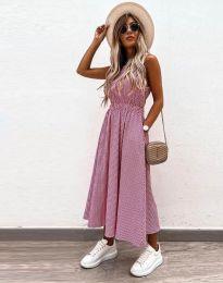 Šaty - kód 2687 - ružová