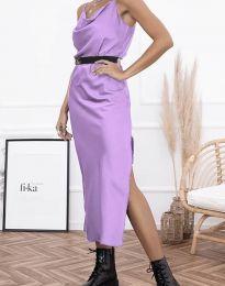 Šaty - kód 6231 - svetlo fialová