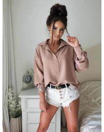 Košeľa - kód 9898 - pudrová