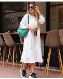 Šaty - kód 5192 - 1 - biela