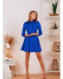 Šaty - kód 6619 - modrá