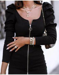 Šaty - kód 2067 - 1 - čierná