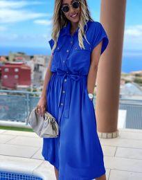 Šaty - kód 6344 - modrá