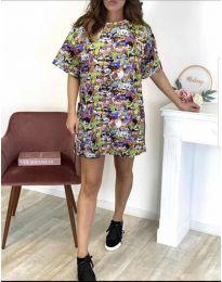 Šaty - kód 119 - viacfarebné