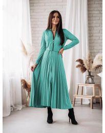 Šaty - kód 1544 - tyrkysová