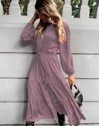 Šaty - kód 6522 - fialová