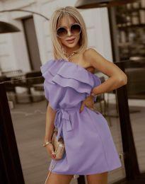 Šaty - kód 7100 - fialová