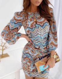 Šaty - kód 3453 - viacfarebné