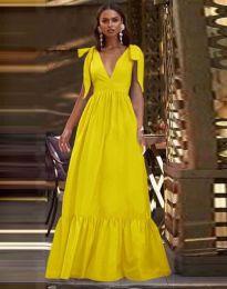 Šaty - kód 2743 - žltá
