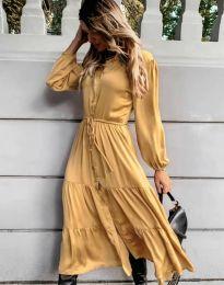 Šaty - kód 6522 - žltá