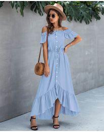 Šaty - kód 564 - modrý