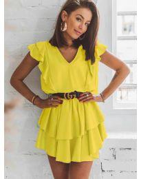 Šaty - kód 7173 - žltá