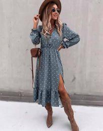 Šaty - kód 2834 - modrý