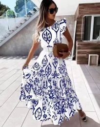 Šaty - kód 1458 - modrý