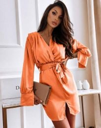 Šaty - kód 2741 - oranžová