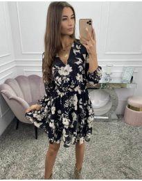 Šaty - kód 5589 - čierná