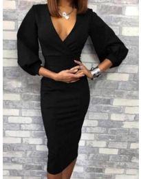 Šaty - kód 4526 - 1 - čierná