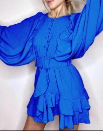 Šaty - kód 6299 - modrá