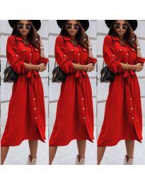 Šaty - kód 1510 - červená