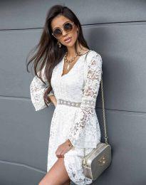 Šaty - kód 6239 - biela