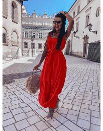 Šaty - kód 1230 - červená