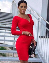 Šaty - kód 12065 - červená