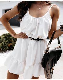 Šaty - kód 7768 - biela